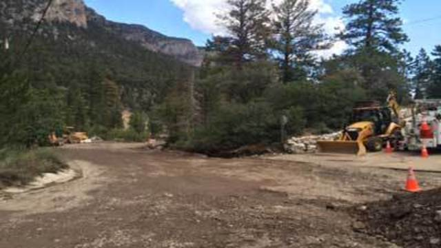 Road repaired, water pipe fixed for Mount Charleston residents