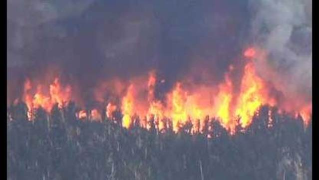 Carpenter 1 Fire Remains 70 Percent Contained