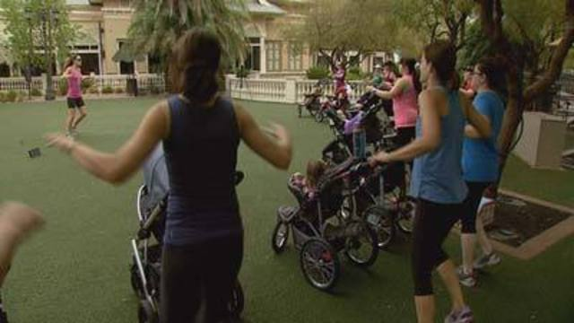 New Mothers Embrace Stroller Strides Workout
