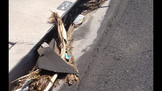 Clogged Storm Drains Only Part of the Problem in Thunderstorms
