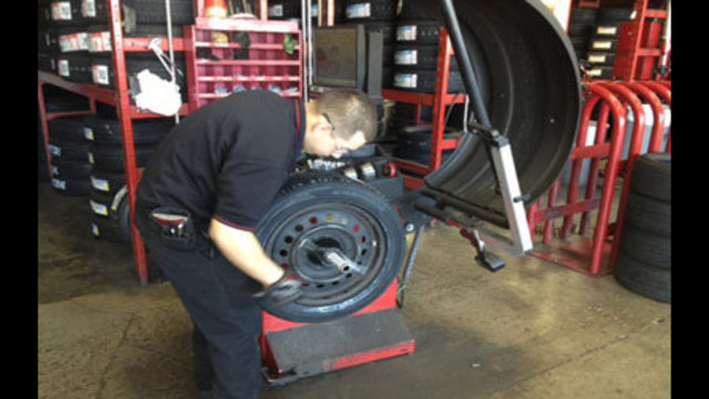 Weekend Storms Send Drivers Scrambling for New Tires