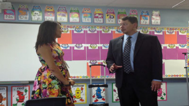 New School Superintendent Embraces Theme of Accountability