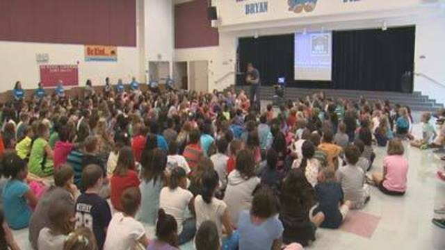 Cool at School: Be Kind Campaign at Bryan Elementary