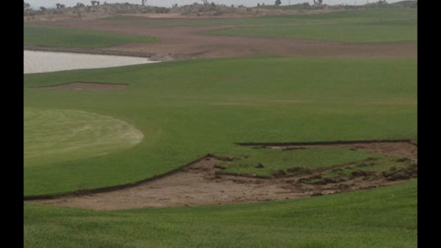 Paiute Golf Resort Heavily Damaged by Flood Waters