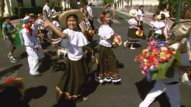 Thousands Head to Las Vegas for Mexican Independence Day