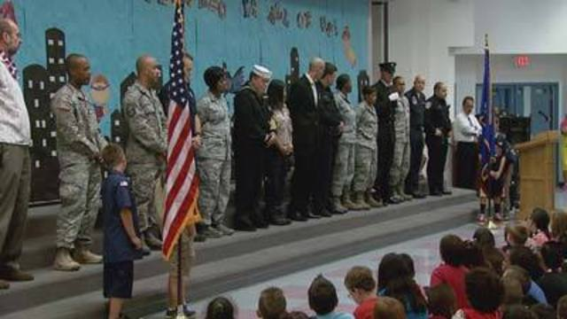 Cool at School: Antonello Elementary Teaches 9/11 Lessons