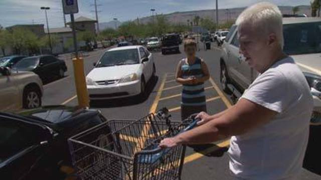 Store Helps Woman Cover Car Damage from Shopping Cart