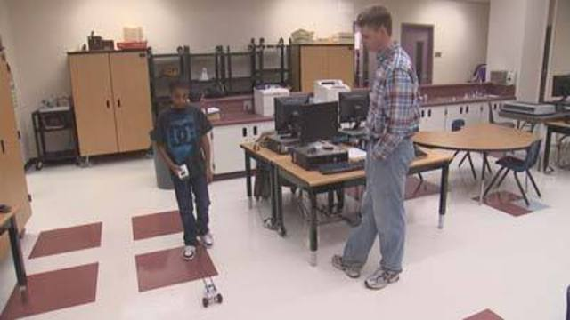 Cool at School: Students Learn Robotics at Taylor Elementary