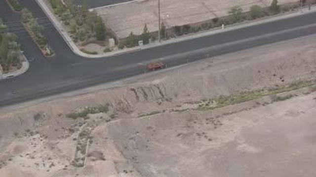 Driving You Crazy: Dirt Mounds Near Hollywood and Vegas Valley