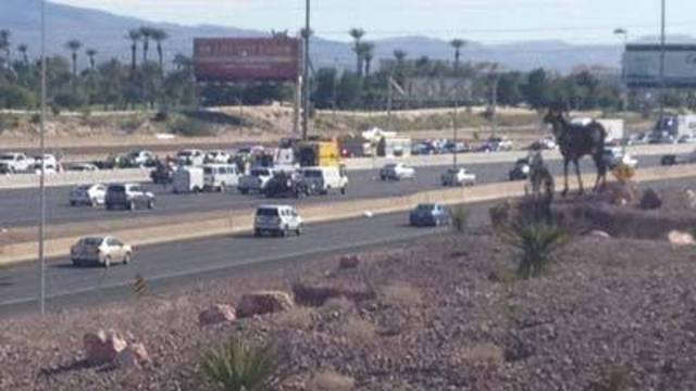 Five Injured in Crash on I-15 at Russell Road