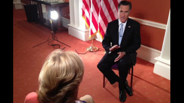 Romney Talks About Jobs and Foreclosures in Nevada