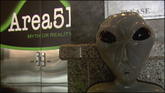 I-Team: Atomic Testing Museum to Highlight Area 51