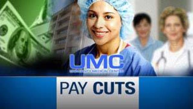More Than 3,500 UMC Workers Get Pay Cuts