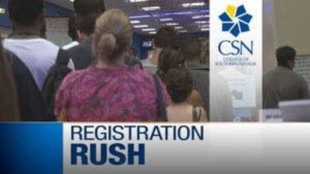Long Lines, Full Classes Frustrate Students at CSN
