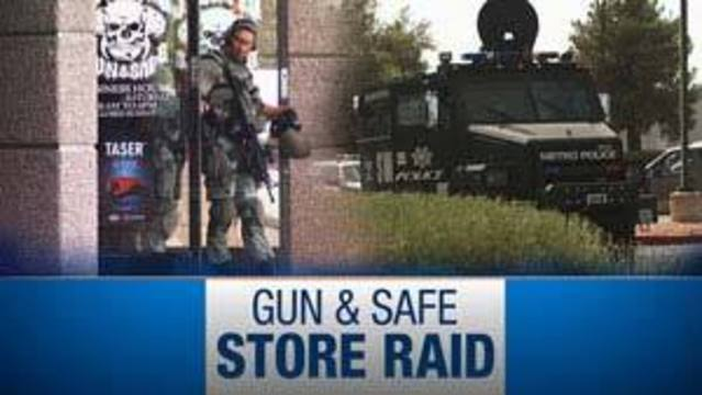 Gun Store Owner Facing Charges for Stolen Military Property