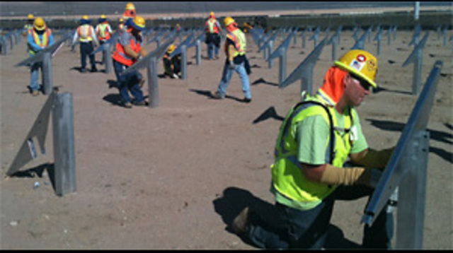 Nevada Solar Power Plant Nears Opening Date