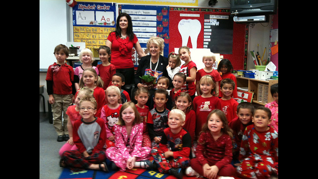 Clark County Students Read to Set World Record