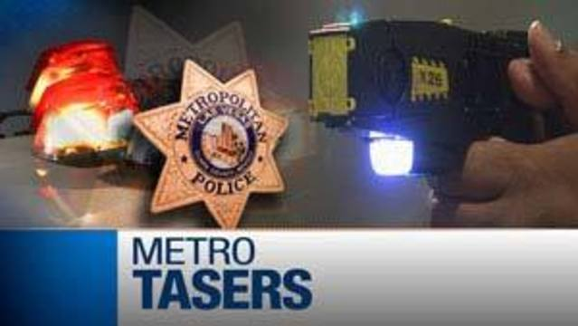 Metro Defends Use of Tasers