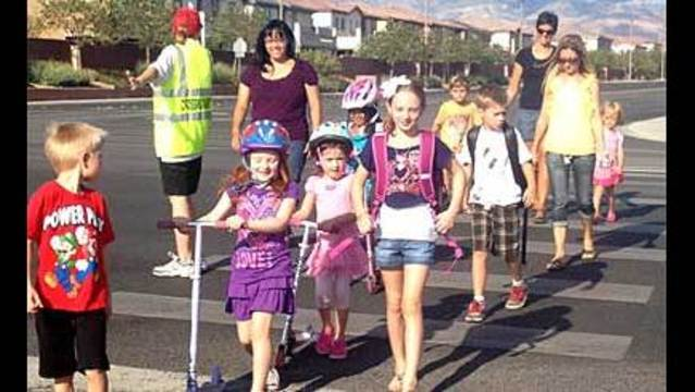 Crossing Guards Warn Parents, Students to be Careful