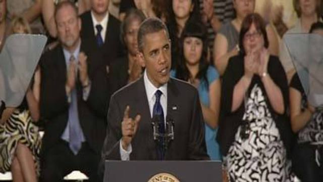 President Obama Delivers Speech in North Las Vegas