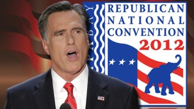 Romney Speech Combines Life Story With Criticism of Obama