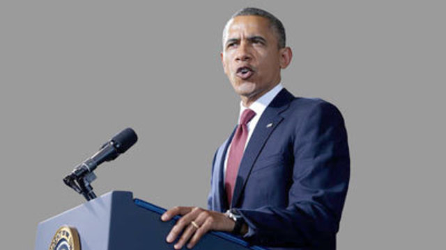 Obama Asks Country to Entrust Him with Second Term