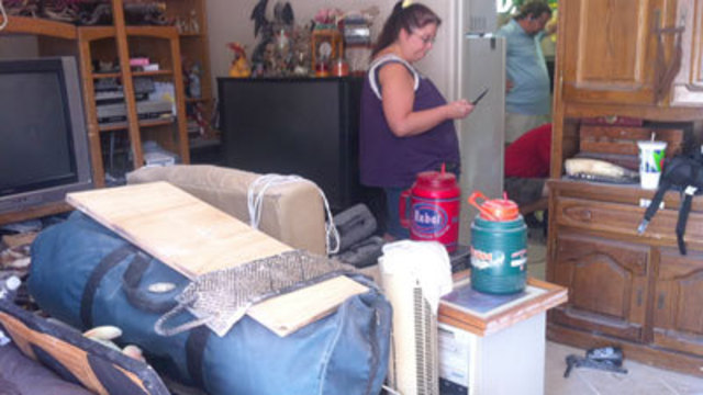 Families Struggle to Move on After Destructive Flood