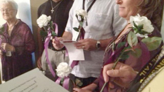 Victims of Domestic Violence Remembered in Ceremony