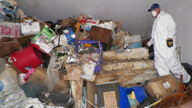 City Calling Hoarded House Worst Seen in Years