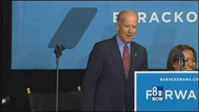 VP Biden Stumps at Vegas-Area Work Training Site