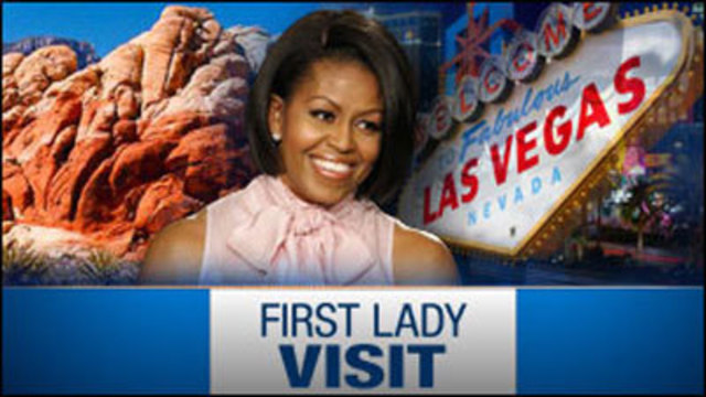 First Lady to Make Campaign Visit to Las Vegas