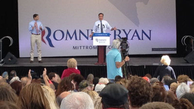 Thousands Turn Out For Romney, Ryan Stop in Nevada
