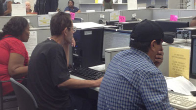 Jobless Frustrated, But Analyst Says Outlook Up