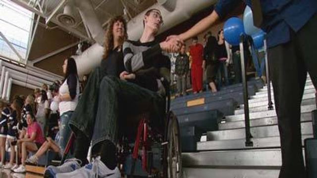 Cool at School: Students Raise Money for Injured Classmate