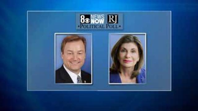 8 News NOW/LVRJ Poll: Heller Maintains Lead Over Berkley