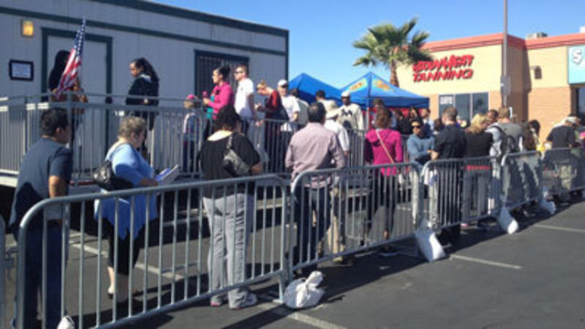 Half of Nevada Voters Cast Ballots in Early Voting