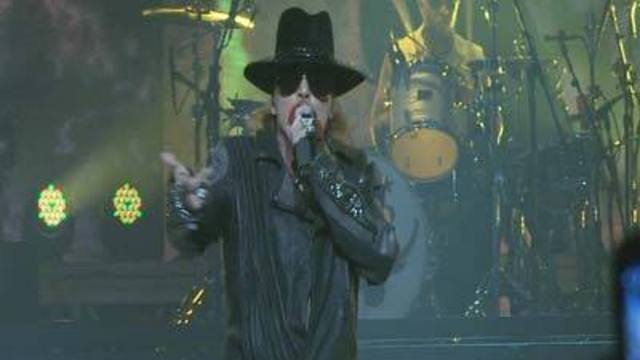 Guns n' Roses Kicks Off Residency at Hard Rock