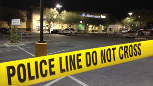 Henderson Police Shoot at Man in Albertsons