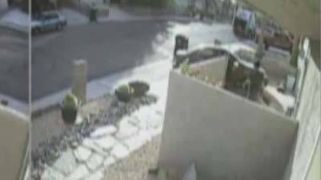 Video Captures Theft From Las Vegas Home