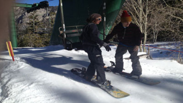 Forget the Stores, Skiers Head to the Mountain for Opening Day