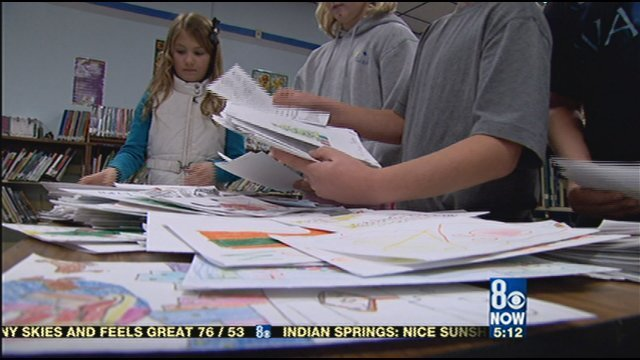 Thousands of Students to Send Letters to Troops Overseas