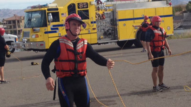 Training Prepares Cadets for Swiftwater Rescues