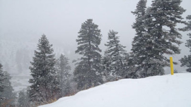 Mt. Charleston Sees First Major Snowstorm