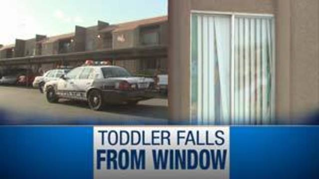 Two-Year-Old Falls From Second Story Apartment