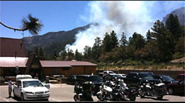 Wildfire Burns 20 Acres on Mt. Charleston