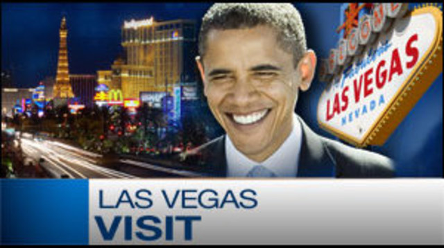 Obama to Campaign with Reid at CityCenter in Vegas