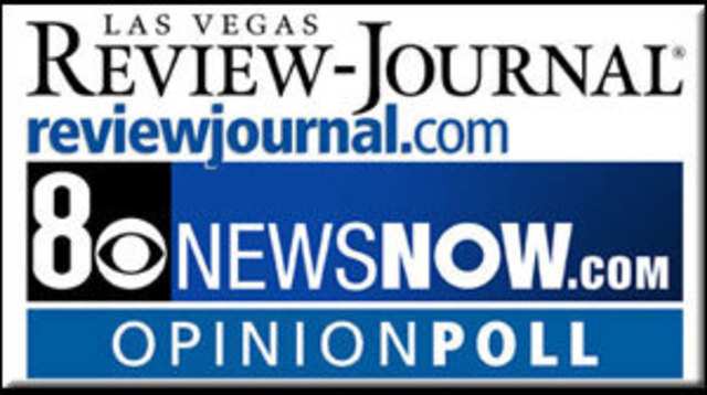 Angle Maintains Lead in Latest 8 News NOW/Review-Journal Poll