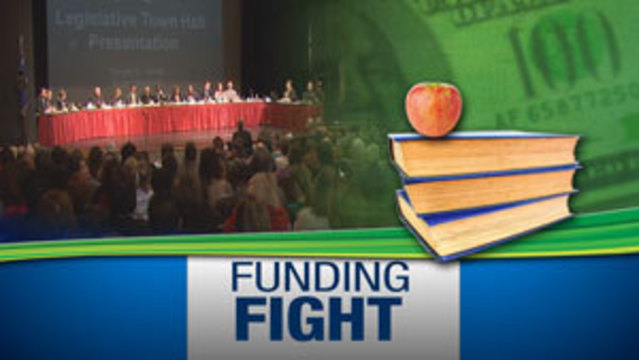 Hundreds Attend Meeting on Proposed Education Cuts