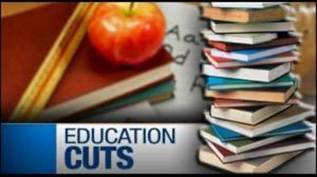 Hearing Outlines Cuts to Higher Education