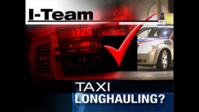 I-Team:  Some Las Vegas Cab Drivers Accused of Long Hauling